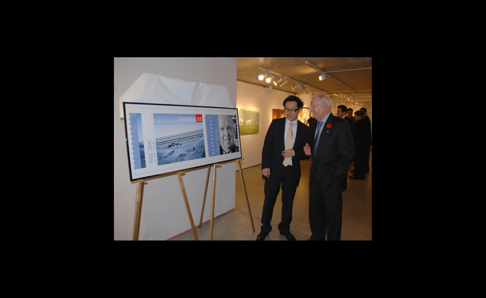 Arthur Erickson with Terry Hui